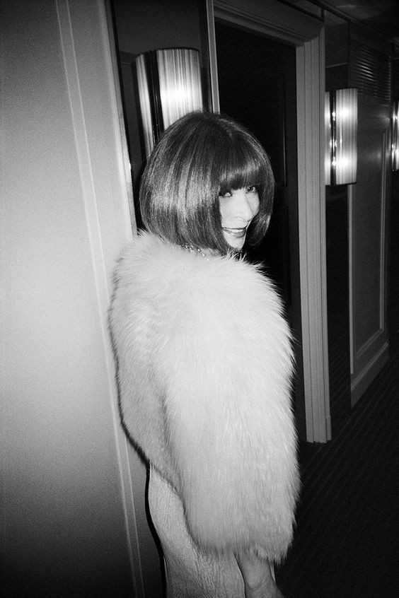 Anna wintour, vogue editor in chief