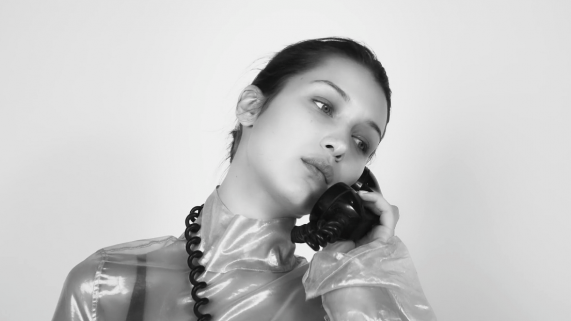 magazine china telephone hadid model