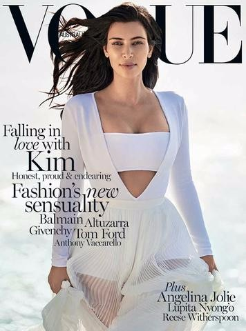alan white kim kardashian, kim kardashian vogue australia, alan white hair stylist, alan white vogue