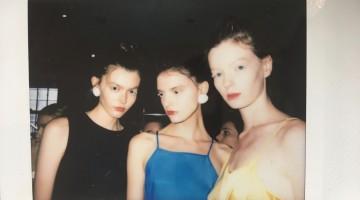 mbfwa, mbfw, all my friends are models, model polaroids