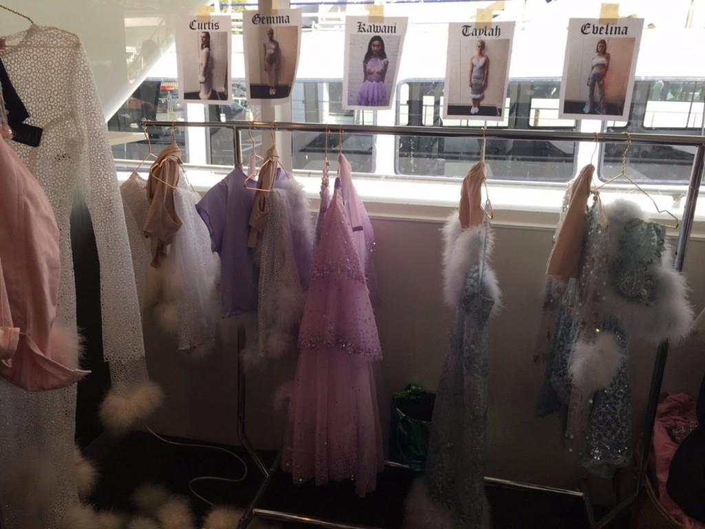 taylah roberts fashion week, taylah roberts, fashion week, bts fashion week, mbfw17, mbfw, Dyspnea backstage, dyspnea mbfw