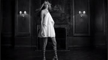 little white dress video