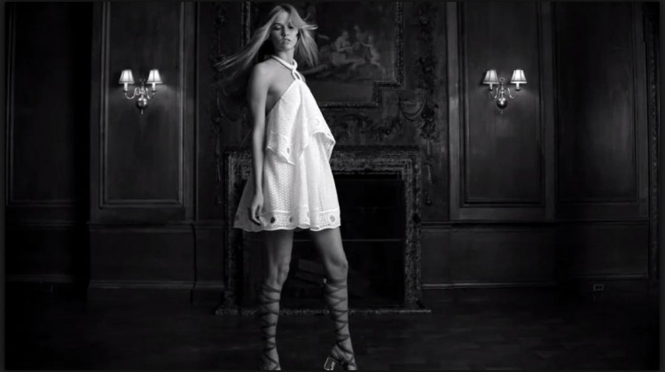 little white dress video