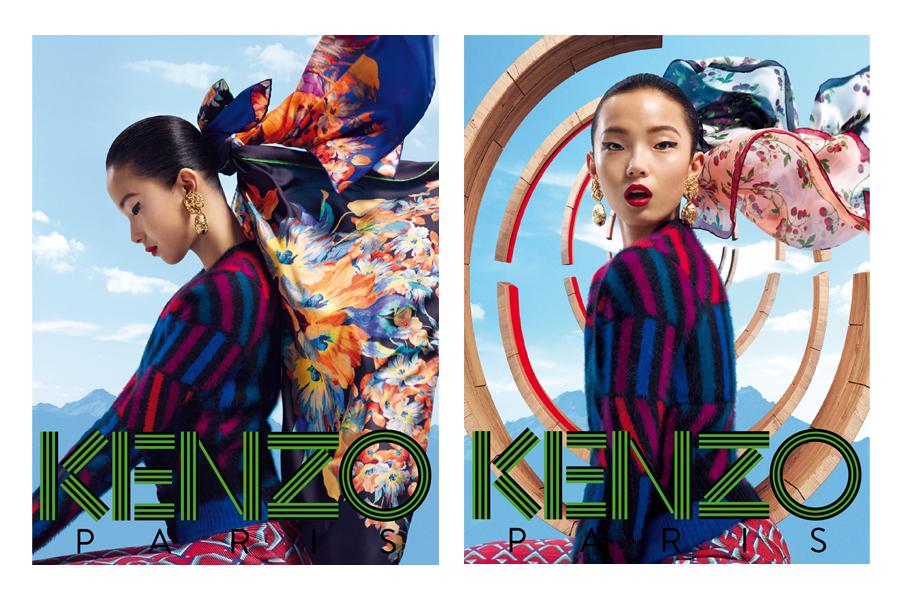 kenzo asian models