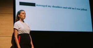 model stage harassment talk