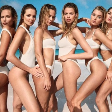 supermodels swim girls
