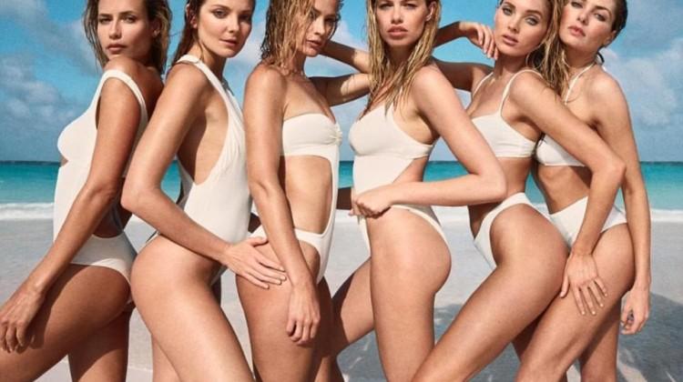supermodels swim girls