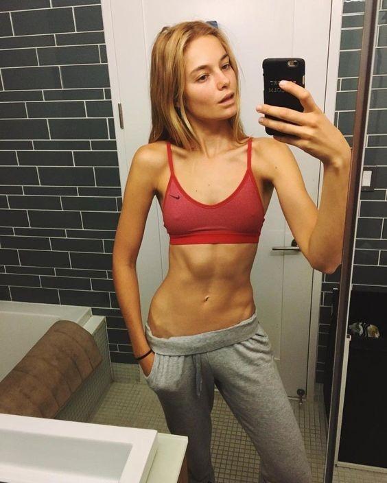 skinny model